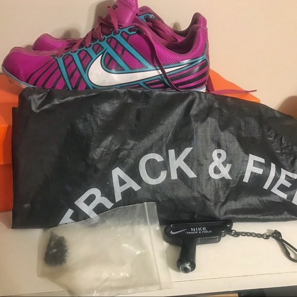 Nike Shoes - Nike Zoom Rival 6 D Track & Field Shoes size 7